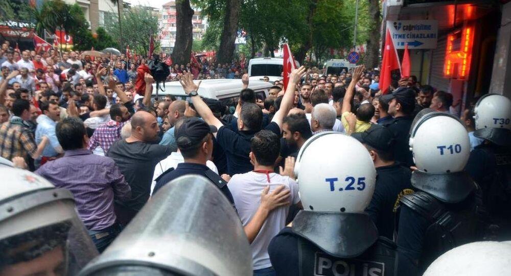 HDP Kocaeli il örgütü binası saldırı