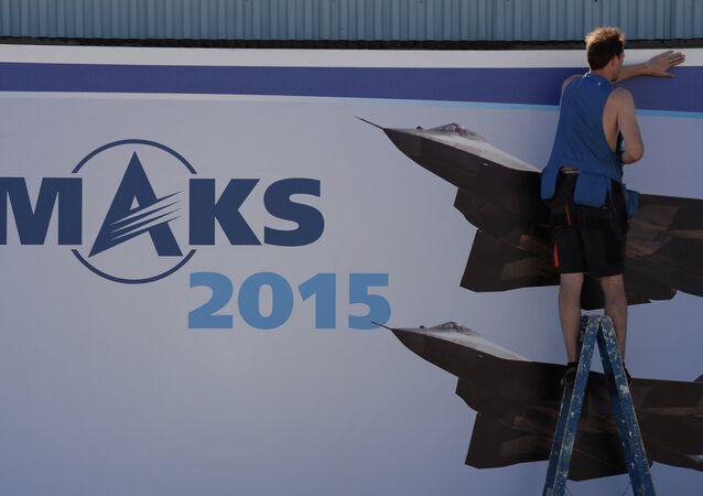 MAKS 2015 Uluslararası Havacılık ve Uzay Fuarı