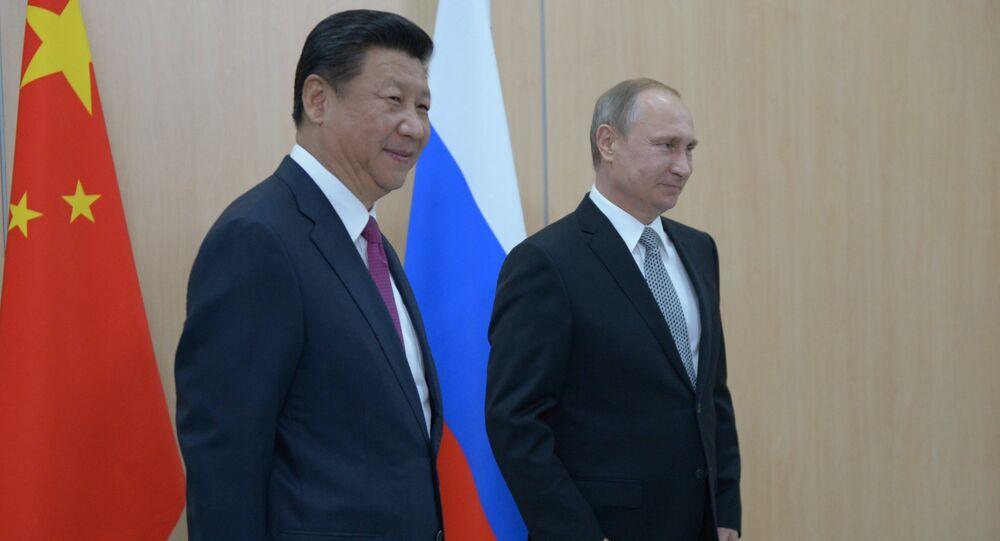 Vladimir Putin- Şi Cinping