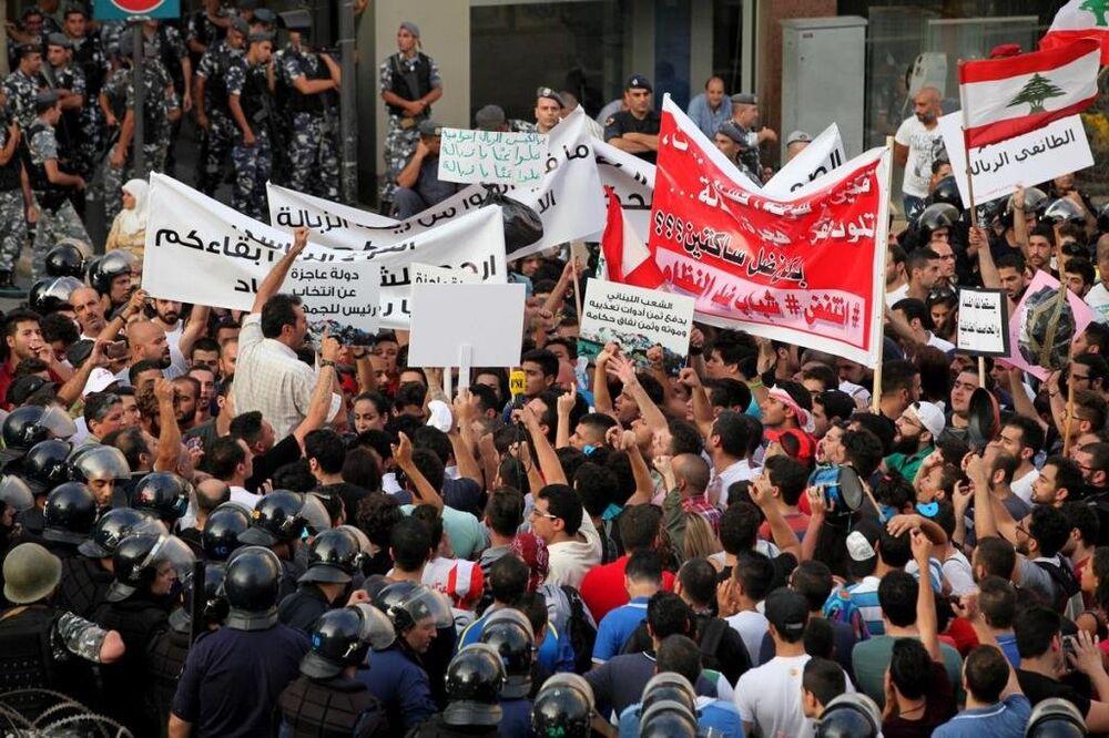Lübnan protestolar