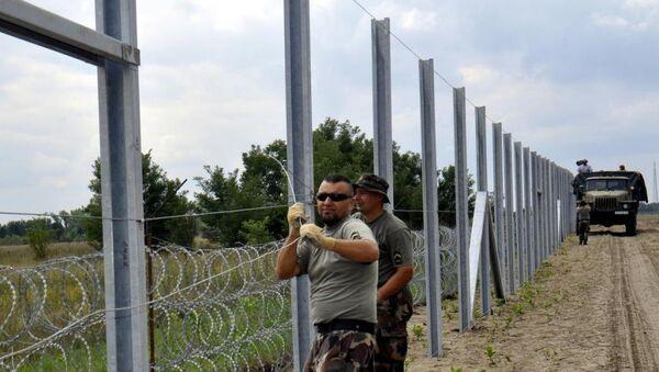 Macaristan - Sırbistan sınırı - Sputnik Türkiye