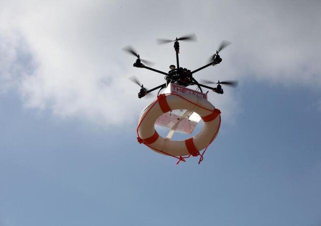 Lübnan'da 'cankurtaran drone'