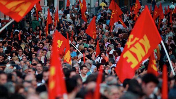 Yunanistan Komünist Partisi (KKE)  - Sputnik Türkiye