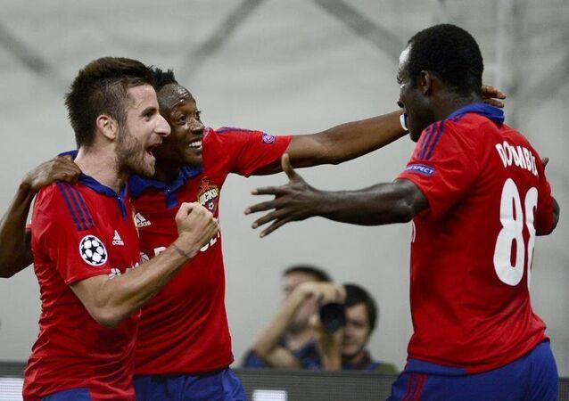 CSKA Moskova Futbol Takımı