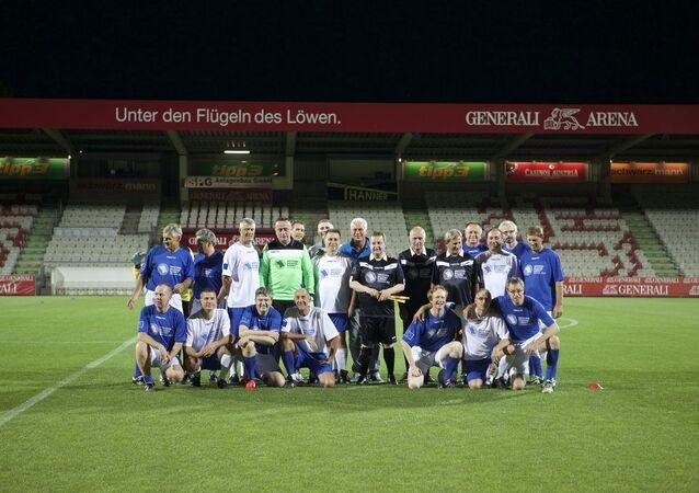 Avusturya'da AB futbol maçı