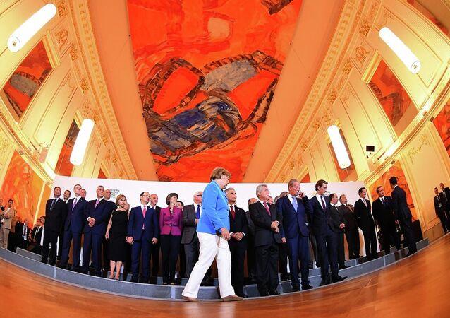 Batı Balkanlar Zirves- Almanya Başbakanı Angela Merkel