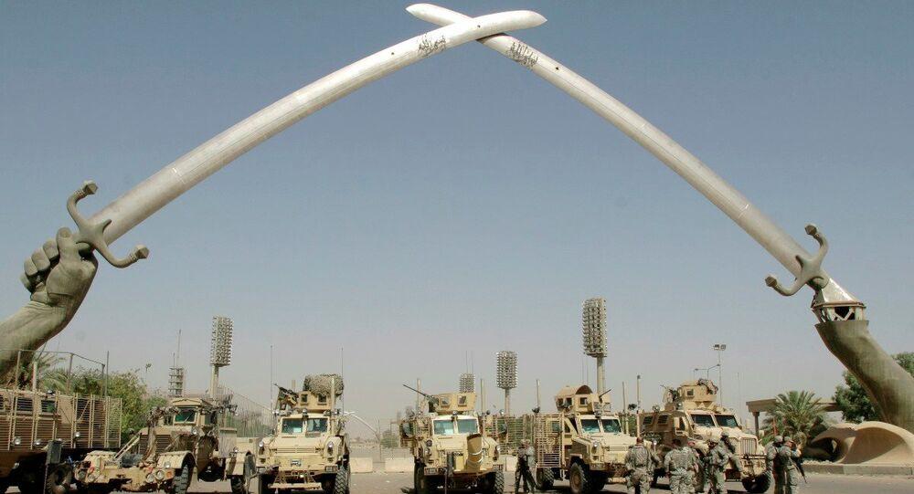 Bağdat'ın merkezinde yer alan ve Yeşil Bölge olarak adlandırılan alan, 2003'teki Irak işgalinin ardından uluslararası koalisyon güçleri tarafından oluşturuldu.