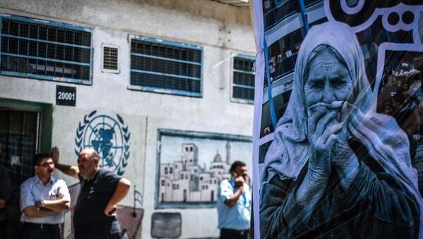 Kararın siyasi olduğunu savunan Mısri, BM'ye de UNRWA'nın bütçe açığının önüne geçilmesi ve siyasi komploların dışında tutulması çağrında bulundu.  - Sputnik Türkiye