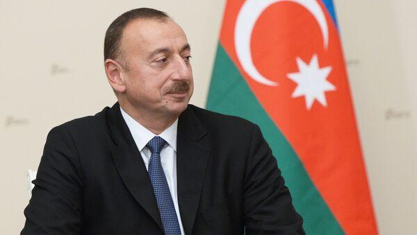İlham Aliyev - Sputnik Türkiye