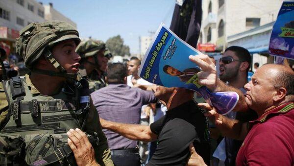 Gazze'deki gösteriler ise İslami Cihad Hareketi'nin çağrısı üzerine gerçekleştirildi. - Sputnik Türkiye