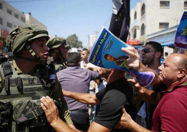 Gazze'deki gösteriler ise İslami Cihad Hareketi'nin çağrısı üzerine gerçekleştirildi.