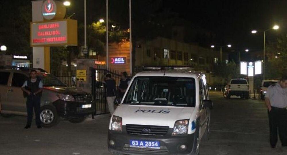 Şanlıurfa hastane, saldırı