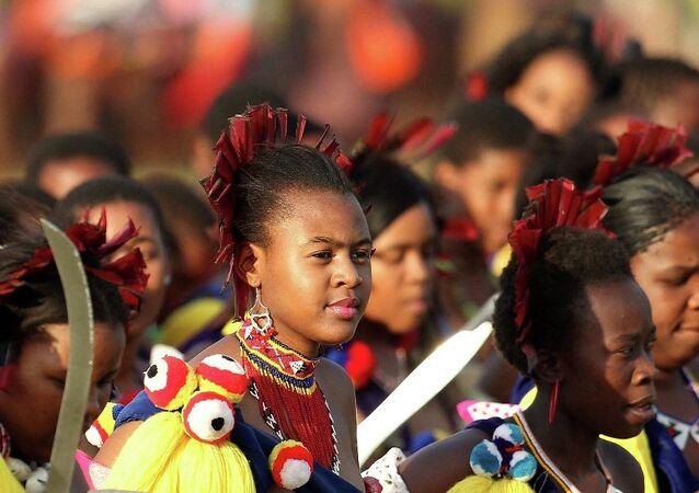 Svazi Kraliçesi'nin düzenlediği geleneksel festival