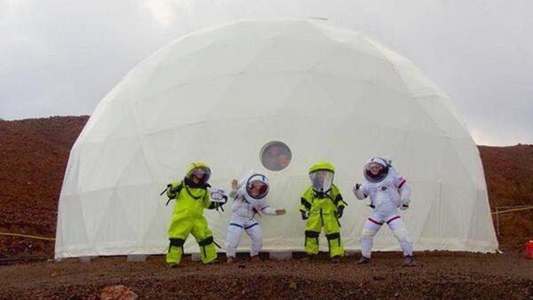 Bir yıllık Mars görevi başladı - Sputnik Türkiye