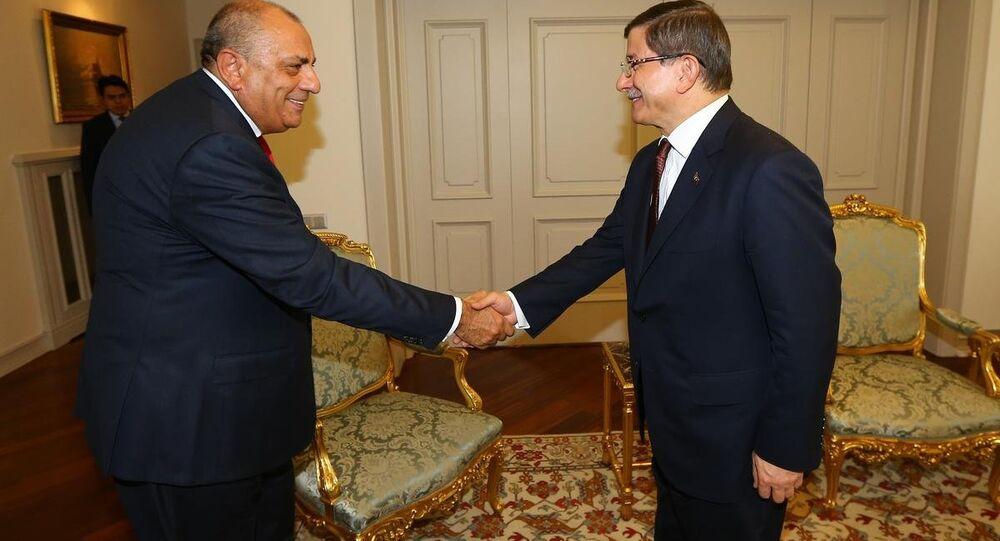 Ahmet Davutoğlu&Tuğrul Türkeş