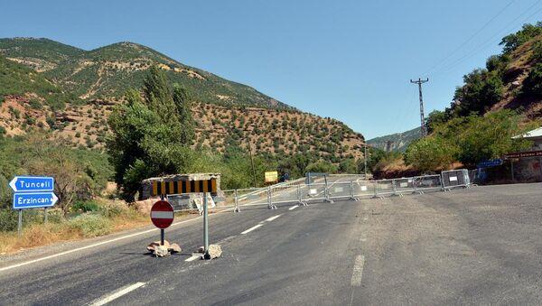 Tunceli'de bazı karayolları ulaşıma kapatıldı - Sputnik Türkiye