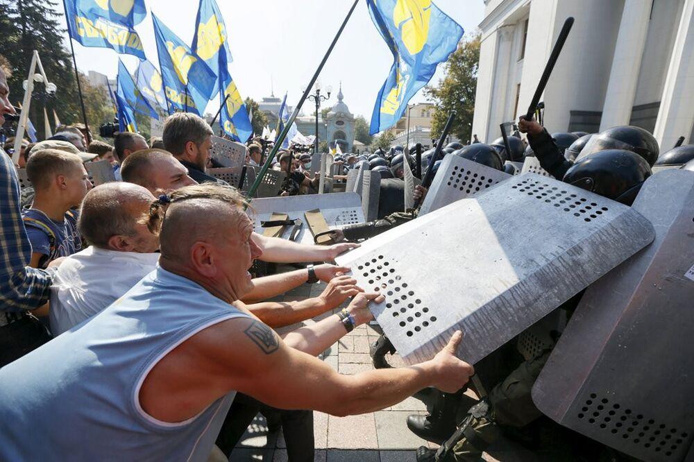 Ukrayna- gösteri