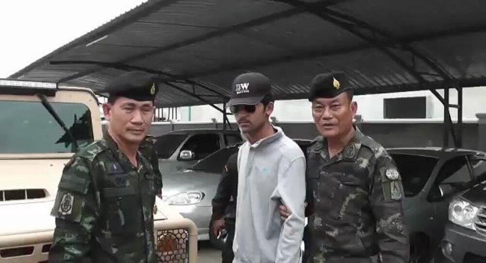 Bangkok bombacısı yakalandı