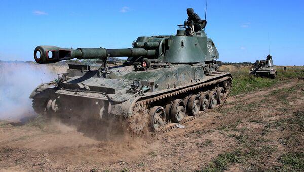 Rusya ordusundan askeri tatbikat - Sputnik Türkiye