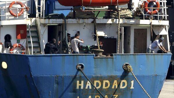 Türkiye'den Libya'ya giden gemide silah yakalandı.jpg - Sputnik Türkiye