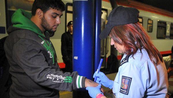 Çek Cumhuriyeti'ndeki sığınmacılar - Sputnik Türkiye
