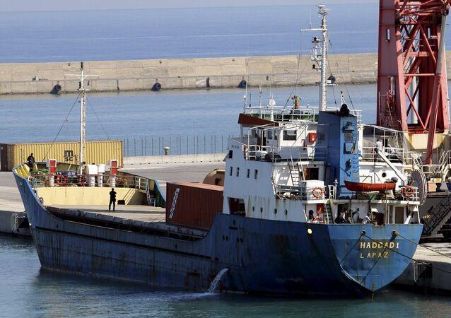 Libya'ya giden Bolivya bandralı gemi