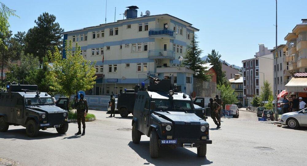 Tunceli polis merkezi silahlı saldırı