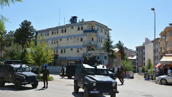 Tunceli polis merkezi silahlı saldırı - Sputnik Türkiye