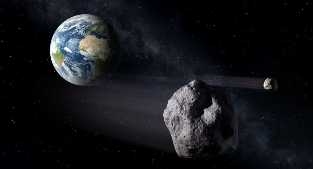 Dünya, asteroit