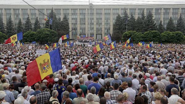 Moldova protestolar - Sputnik Türkiye
