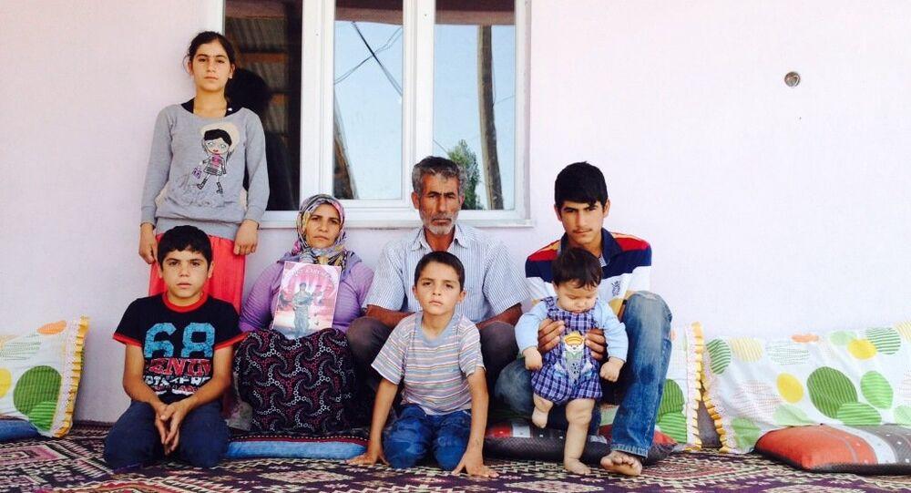 Asker Serter Taş'ın ailesi, bir an önce oğullarına kavuşmak istediklerini söyledi.