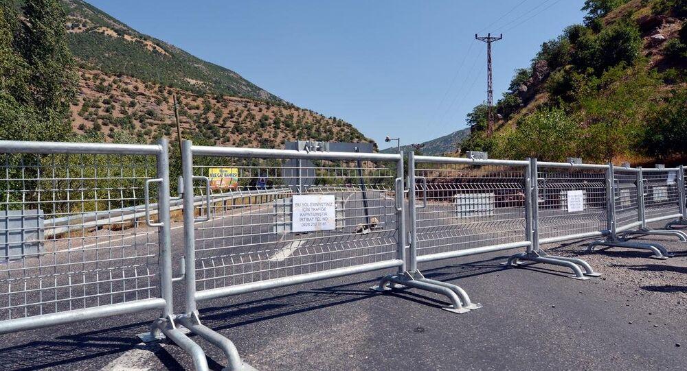 Tunceli-Pülümür ve Tunceli-Ovacık karayolları ulaşıma kapatıldı