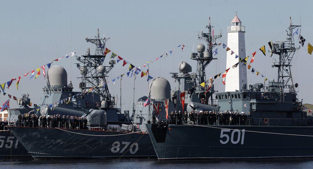 Rus savaş gemileri