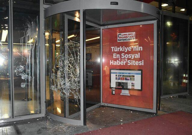 Hürriyet Gazetesi'ne saldırı