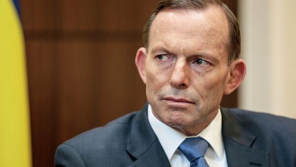 Avustralya Başbakanı Tony Abbott - Sputnik Türkiye