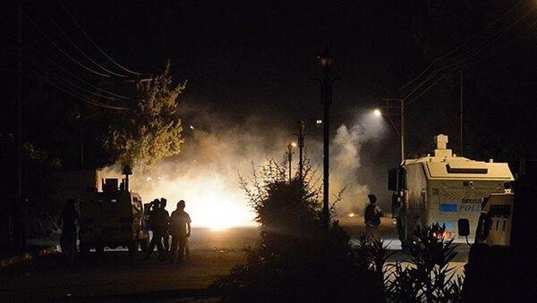 saldırı, polis, çatışma - Sputnik Türkiye