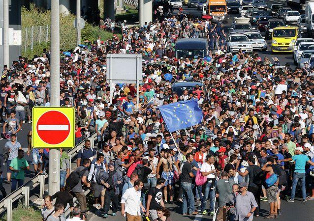 Macaristan'daki göçmenler