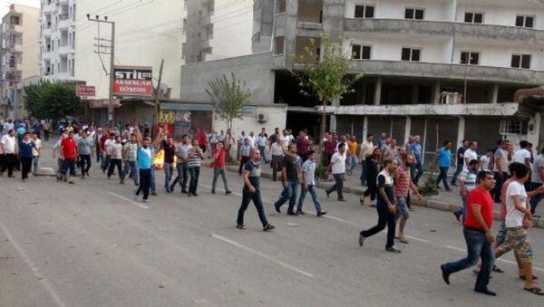 Cizre protesto - Sputnik Türkiye