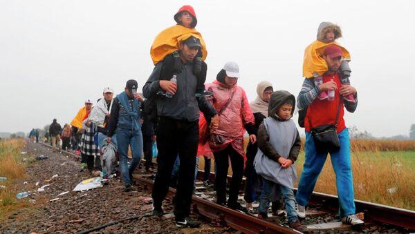 Sığınmacı, göçmen, mülteci - Sputnik Türkiye