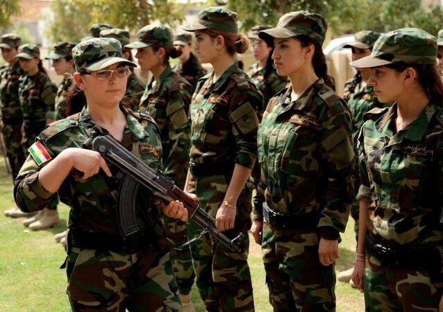 Irak'taki Yezidi kadınlar