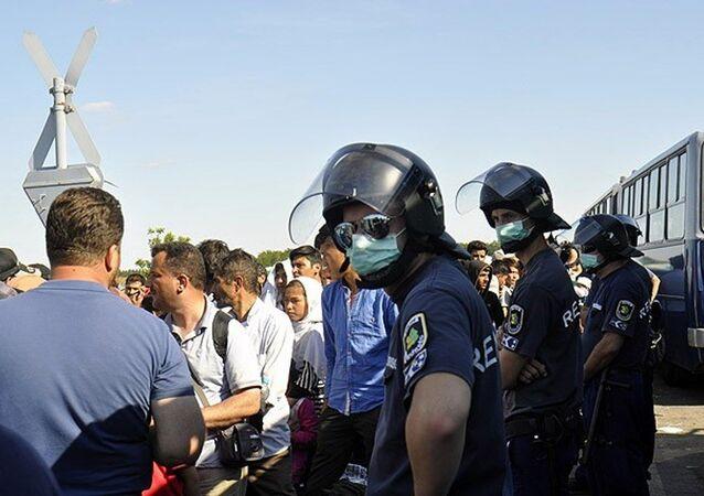 Macaristan'daki sığınmacılar