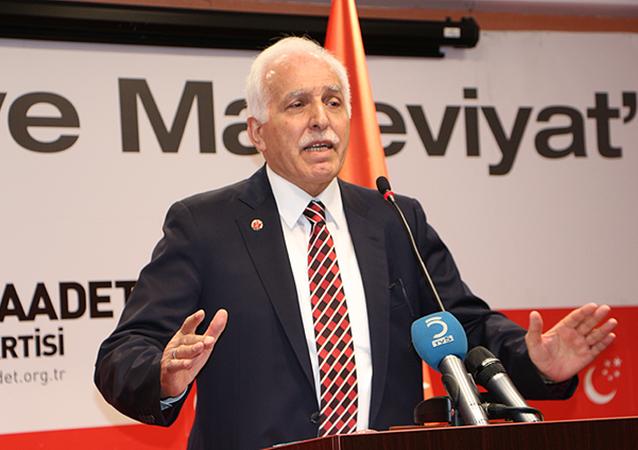 Saadet Partisi Genel Başkanı Mustafa Kamalak