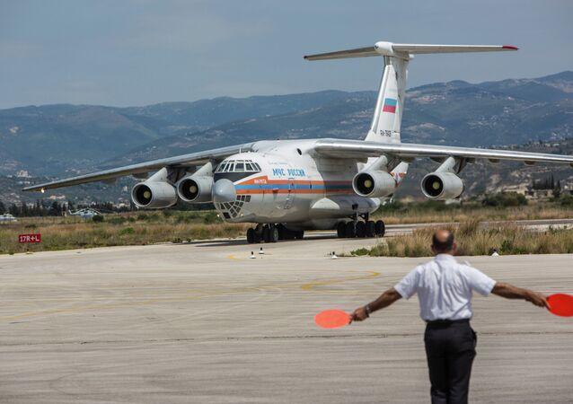 Rusya, Suriye'ye insani yardım malzemesi gönderdi