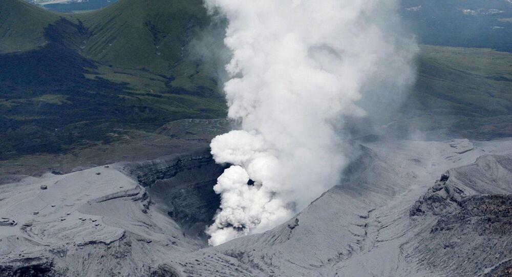 Japonya- volkan