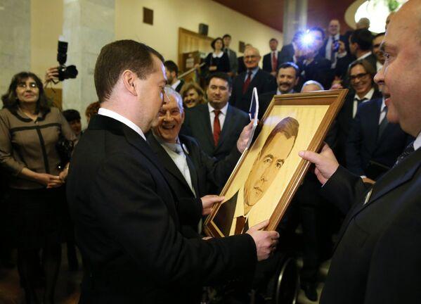 Başbakan Medvedev 50 yaşında - Sputnik Türkiye