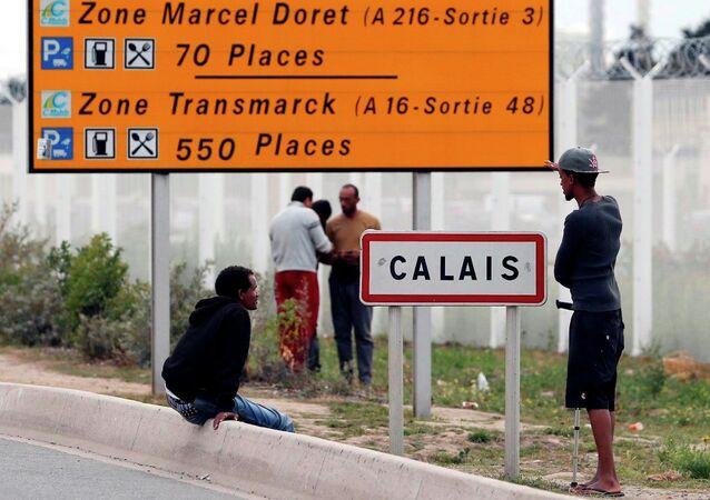 Fransa - İngiltere, sığınmacı, Calais