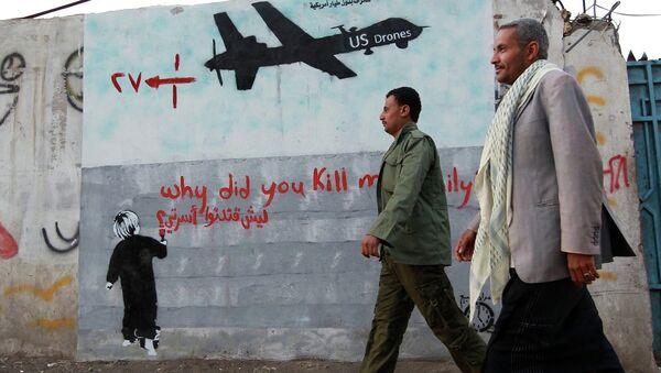 Yemen - ABD - drone - İHA - Sputnik Türkiye