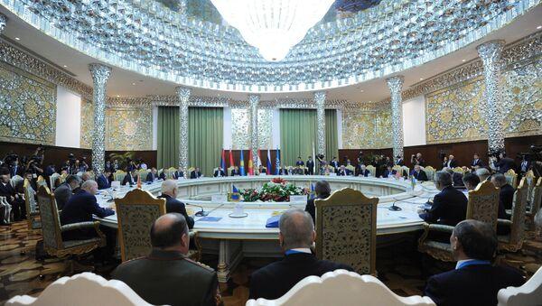 Kolektif Güvenlik Anlaşması Örgütü (KGAÖ) Devlet Başkanları Konseyi - Sputnik Türkiye