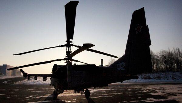 Rusya Ka-52 helikopteri - Sputnik Türkiye