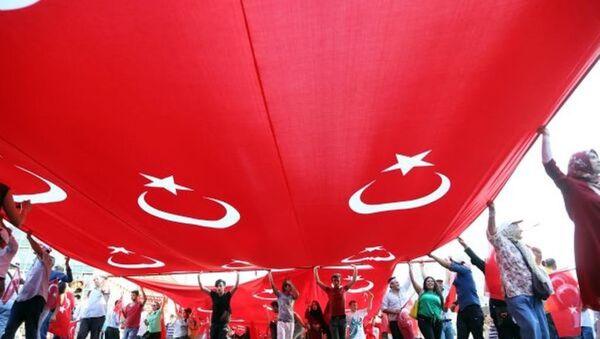 Ankara 'Teröre hayır, kardeşliğe evet' için yürüdü - Sputnik Türkiye
